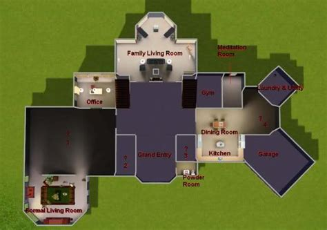 Sims 3 Legacy House Floor Plan by Floorplan Help The Sims Forums