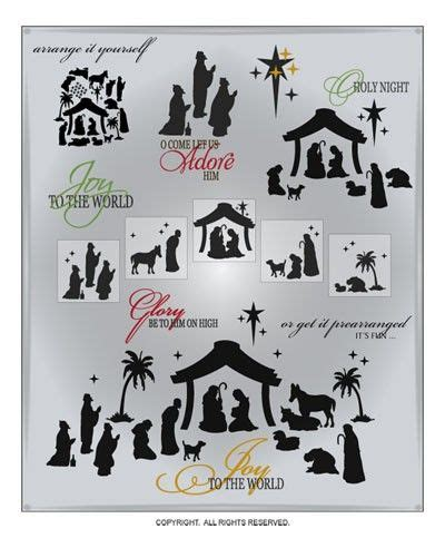 Nativity (13 images) 1/1 pages. Nativity SVG Files Christmas Cuttable SVG Files Nativity ...