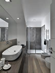 Amazing Home Interior Designs 35 Master Bathrooms With Wood Floors Pictures Modern Color Schemes Wooden Flooring And