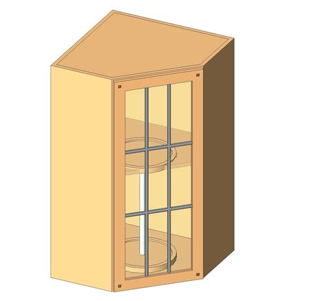 corner wall cabinet generic specialty casework bim objects families