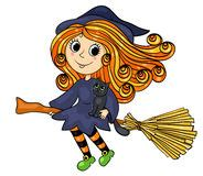 cute  witch stock photography image