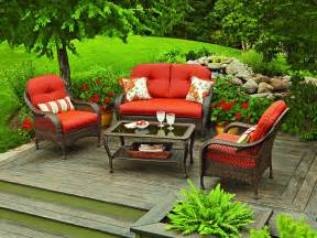 4 piece patio outdoor garden lwan furniture conversation