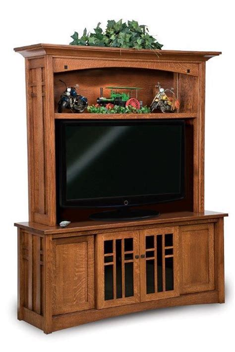 Kascade Mission Hutch Entertainment Center from