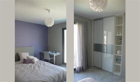 chambre ton gris chambre parme et gris nolwenn kevell photo n 91 domozoom