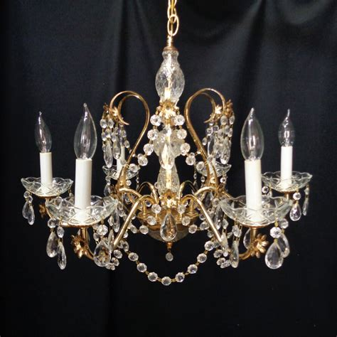 chandelier ebay 6 light vintage rustic brass 24 quot chandelier from