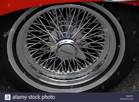 Wheel Rim Of A Jaguar E Type 4, 2, Retro Motor