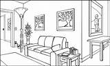 Perspective Drawing Living Point Interior Line Scene Horizontal Lesson Resch Eye Place Grad Lines Points Saigon Characteristics Getdrawings Whereas Dustin sketch template