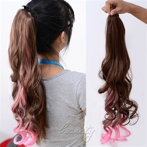 ponytail extensions hair styles