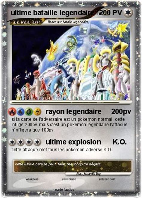 carte pokemon  imprimer legendaire