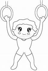 Acrobat Coloring Acrobaat Kid Kleurende Pagina Het Circus Jonge Geitje Gymnast Colourful Handstand Juggling Cartoon Doing Ball Vector sketch template