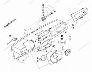 Arctic Cat Side By Side 2006 Oem Parts Diagram For Dash