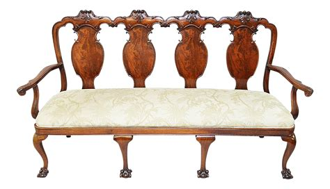 chippendale settee antique chippendale settee chairish