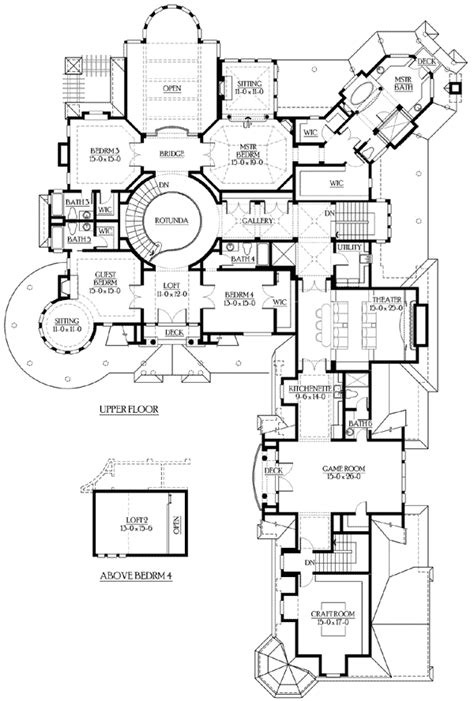 plan jd spectacular hampton style estate house