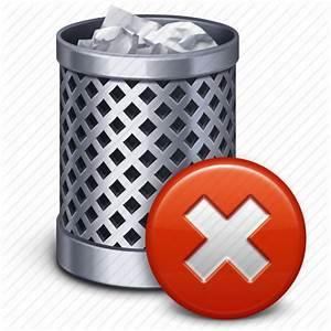 Bin, can, delete, empty, recycle, remove, trash icon ...