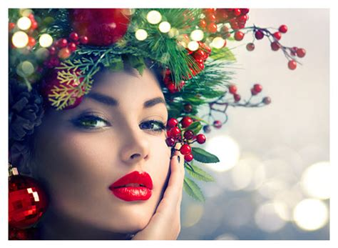 holiday hair and glow with the flow daily plate of crazy