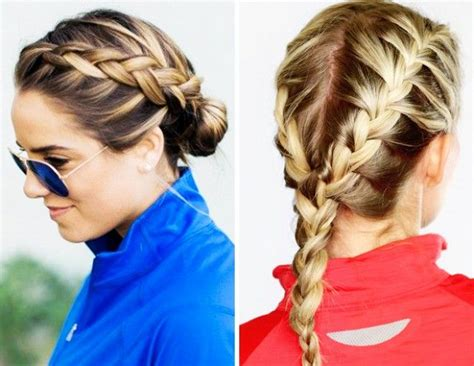 9 Workout Hairstyles Even The Sweatiest Gym Sesh Won't