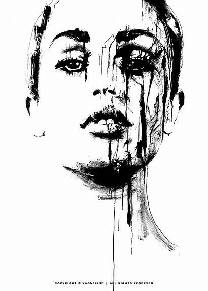 Truth Portrait Prints Artist Ink Drawing Drawings