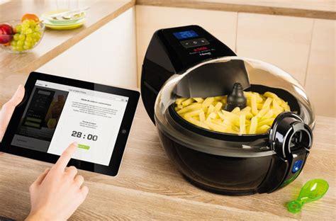 friteuse et cuisine friteuse cafetière four les objets connectés