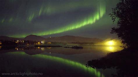 gifs night sky aurora norway  vimeo aurora borealis