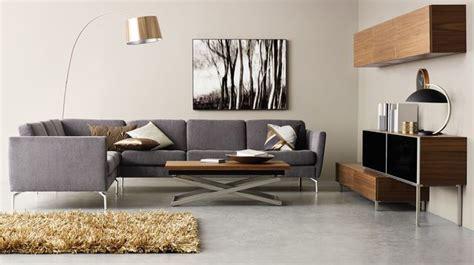 canapé pour salon canapé d 39 angle en tissu cuir design contemporain côté