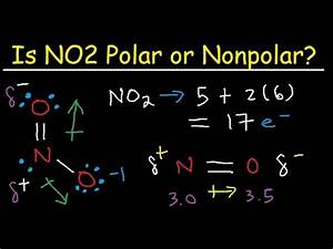 Is NO2 Polar or Nonpolar ? - YouTube