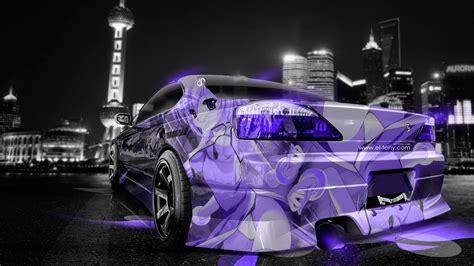 nissan silvia  jdm anime aerography city car  el tony