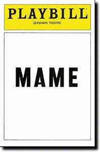 playbill clipart With playbill template free