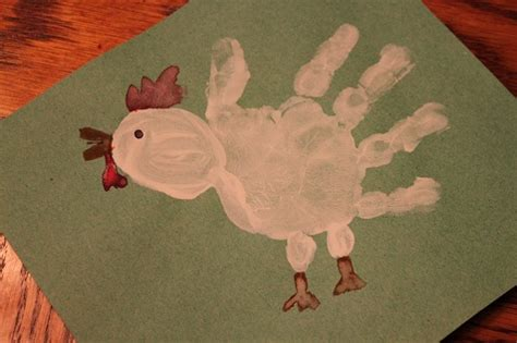 handprint chicken our crafts n things foot print 664 | e1d8dfb19492f8ff1b2216aabe5a180f