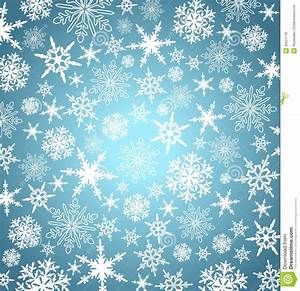 Christmas Snowflakes Background Card Menu Web Stock Vector ...