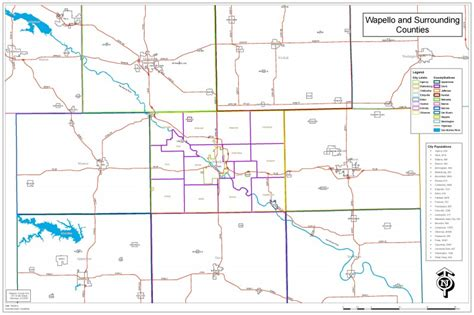Map Gallery « Official Wapello County Website