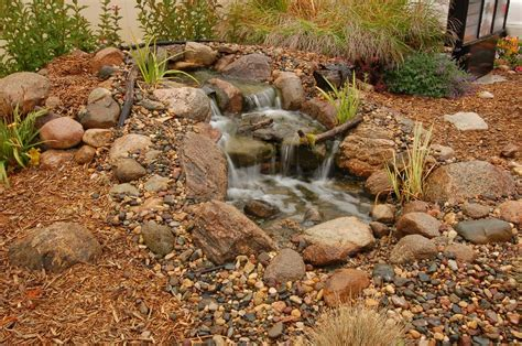 small garden waterfalls pictures small pond waterfall bing images