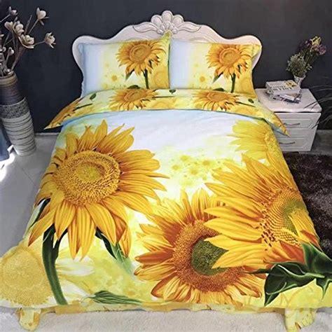 beautiful sunflower bedding sets