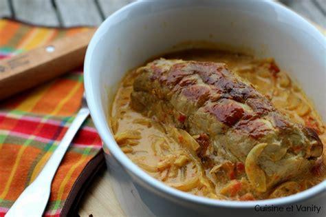 cuisiner un filet mignon de porc en cocotte filet mignon de porc au lait de coco et curry cuisine et
