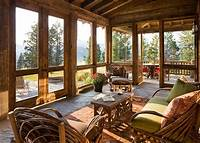 pictures of sunrooms Timeless Allure: 30 Cozy and Creative Rustic Sunrooms