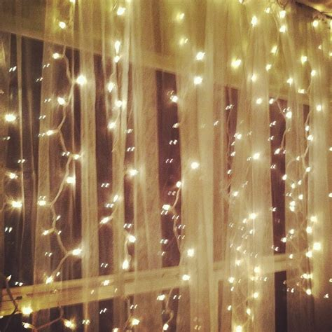 twinkle light curtains hanging white lights sheer curtains