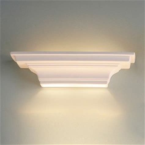 24 5 inch ledge geometric ceramic wall sconce indoor