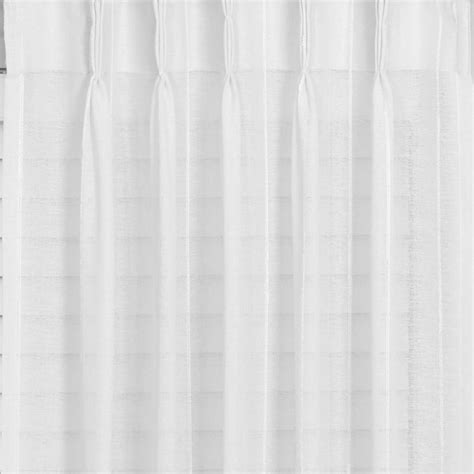 buy geneva striped sheer pinch pleat curtains