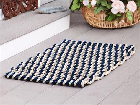 nautical doormats nautical door mats by the rope co