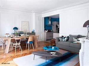 avant apres une cuisine ouverte sur le salon le With attractive idee deco terrasse jardin 8 deco salon et cuisine ouverte