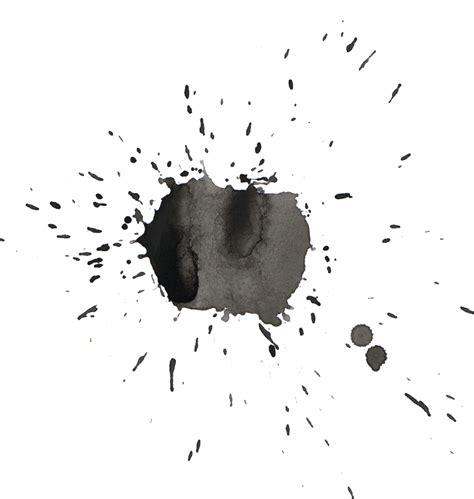 black watercolor splatter png transparent onlygfxcom