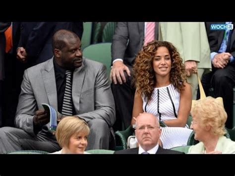 Shaquille O'Neal and His Girlfriend