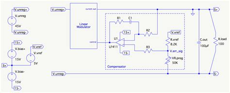 Power Supply Deriving Controller Transfer Function