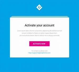 emailer drag drop email template builder access by With activation email template