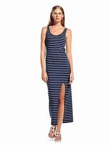 un air de vacances en robe mariniere fendue http www With robe cintree
