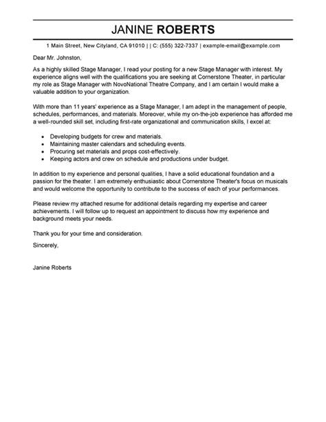 Best Supervisor Cover Letter Examples | LiveCareer