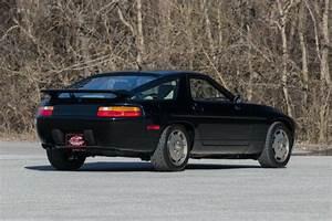 1989 Porsche 928 S4 Rare Manual Transmission Black W   Tan