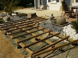 Support Terrasse Bois : support terrasse bois id e int ressante pour la ~ Premium-room.com Idées de Décoration