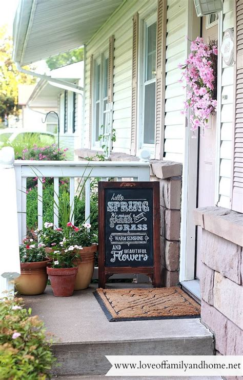 Rustic Spring Porch Decor Ideas Make Your Home Bloom