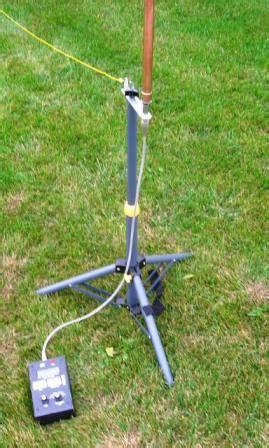 wbdlc portable vertical antenna
