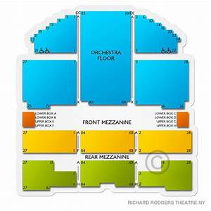 Richard Rodgers Theater Interactive Seating Chart Richard Rodgers Theatre New York Tickets Richard Rodgers